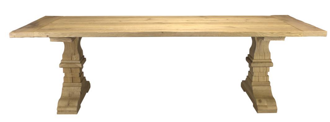 Oak table column 200x100cm for Html table column