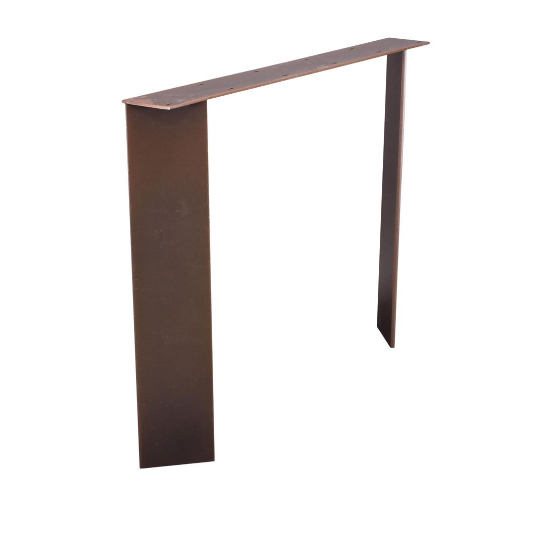Metal table base slim Metal table base