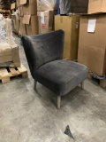Club Chair Fonz royal Anthracite 67