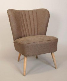 Club chair 50s brown 008