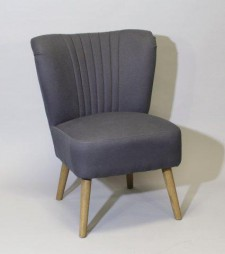 Club Chair 50s blue 016