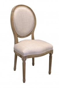 Chair Louis XVI old oak beige 015