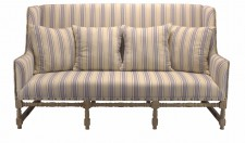 Sofa Fredric old oak striped