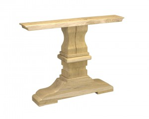 Oak Table Column 200x100cm