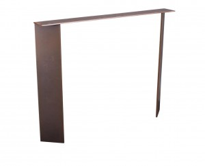 Metal table Base SLIM