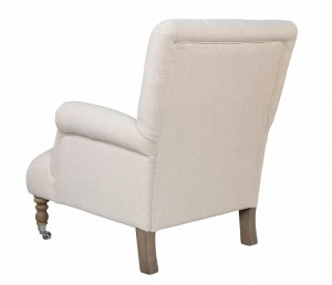 Easychair Victor Creme old grey legs