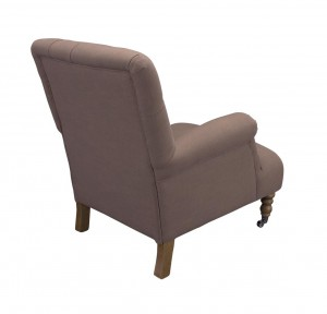 Easychair Victor Taupe old grey legs