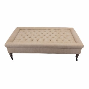 Footstool table Jones Natural M
