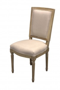 Chair Lodewijk Square Back old oak - Choose your fabric