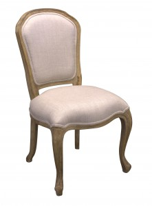 Diningchair Louis II old Oak - Choose your fabric