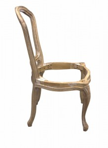 Diningchair Louis II frame only - Choose your fabric