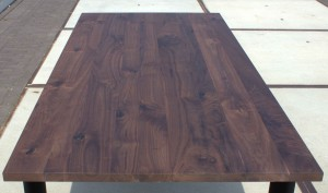 Smooth Walnut Table Top 30mm