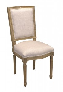 Chair Lodewijk VXI square back FRAME ONLY - Choose your fabric